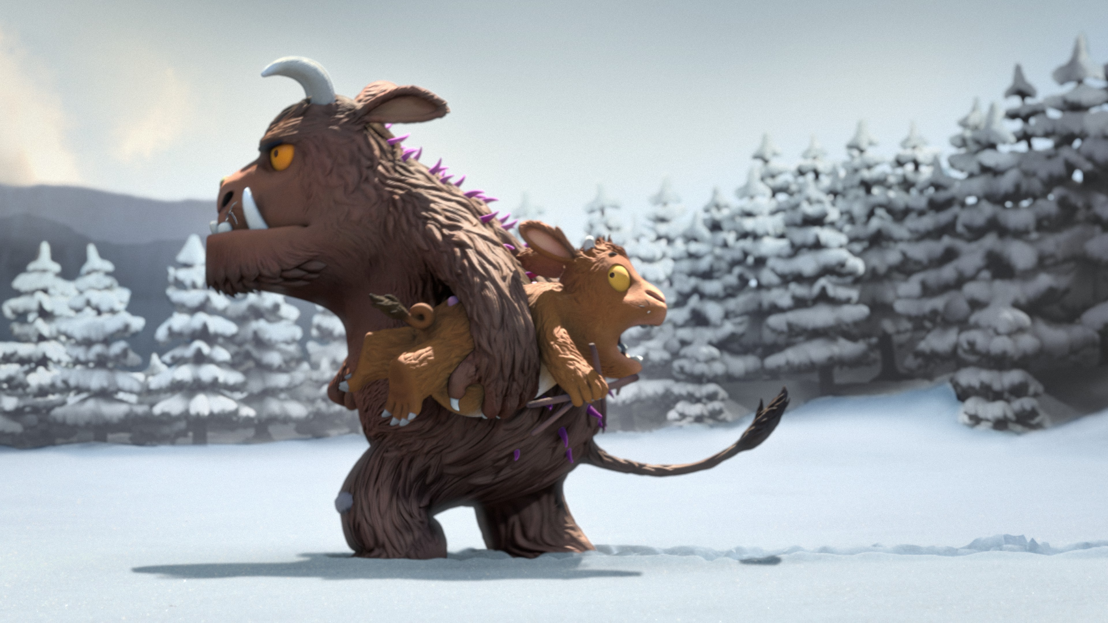 GRUFFALO CARRYING GRUFFALO'S CHILD_S